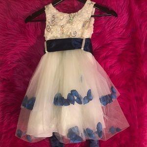 Girls Formal flower dress